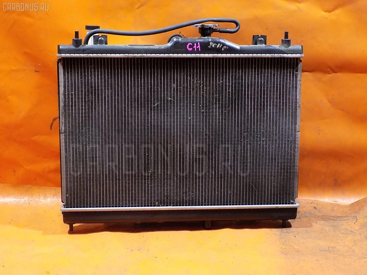 Радиатор ДВС NISSAN TIIDA C11 HR15DE. Фото 5