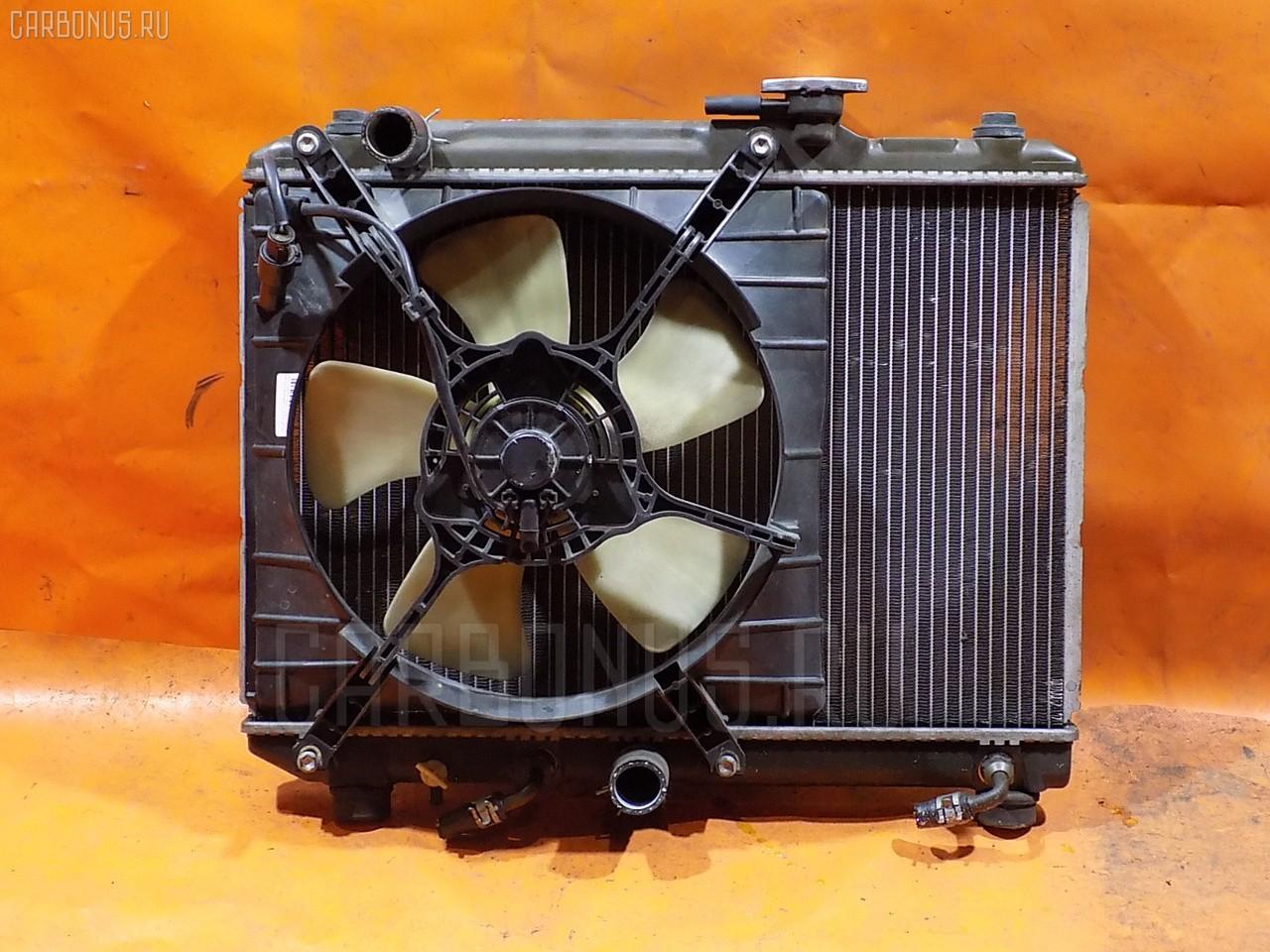 Радиатор ДВС SUZUKI CULTUS GC21S G15A. Фото 8