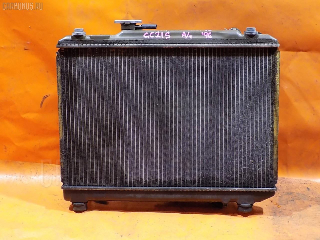 Радиатор ДВС SUZUKI CULTUS GC21S G15A. Фото 9