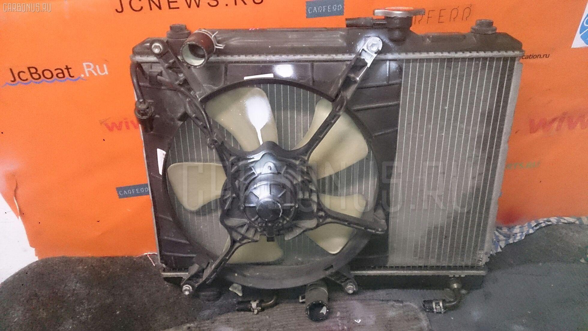 Радиатор ДВС SUZUKI CULTUS GC21S G15A. Фото 6