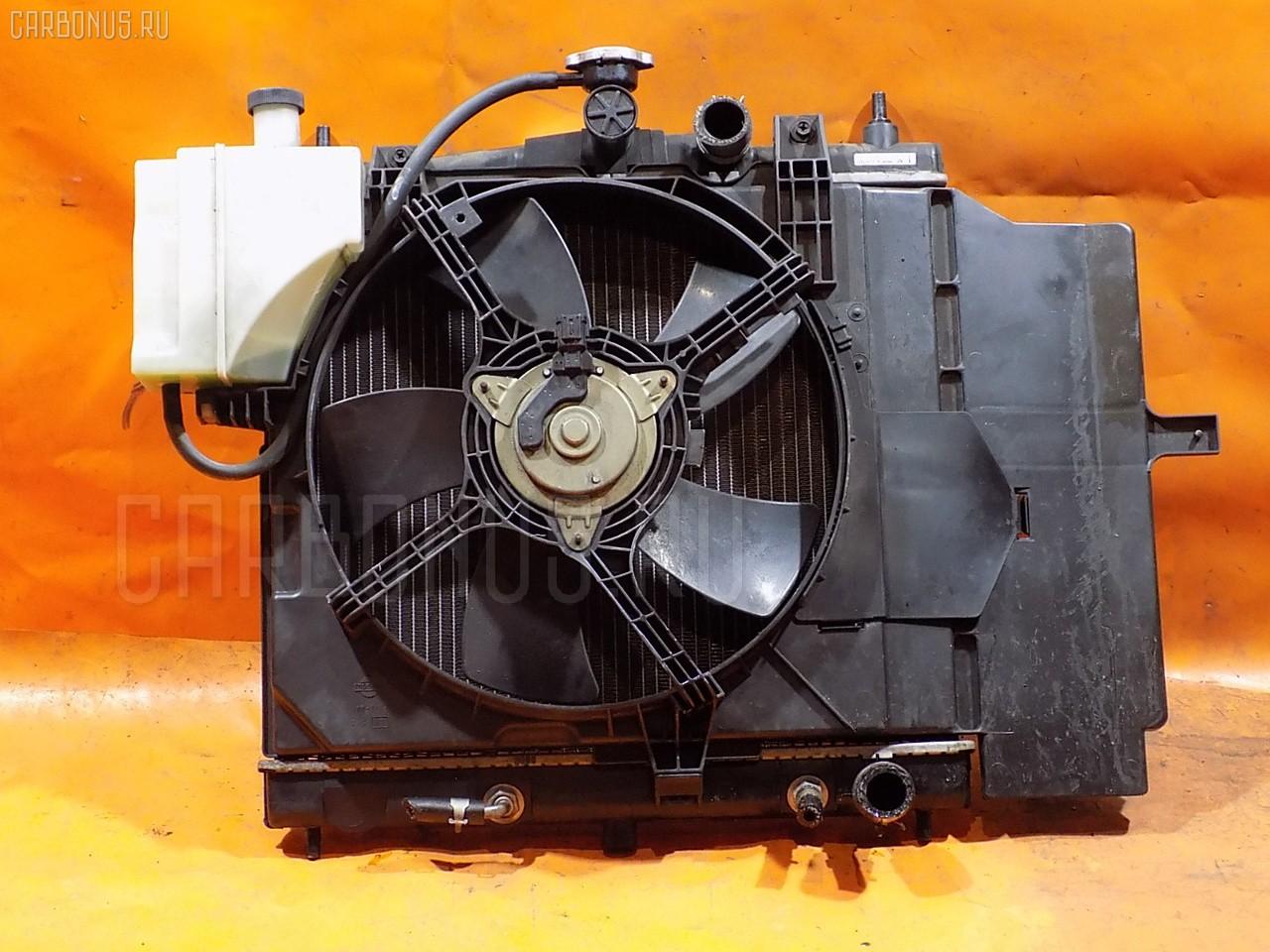 Радиатор ДВС NISSAN MARCH BK12 CR14DE. Фото 1