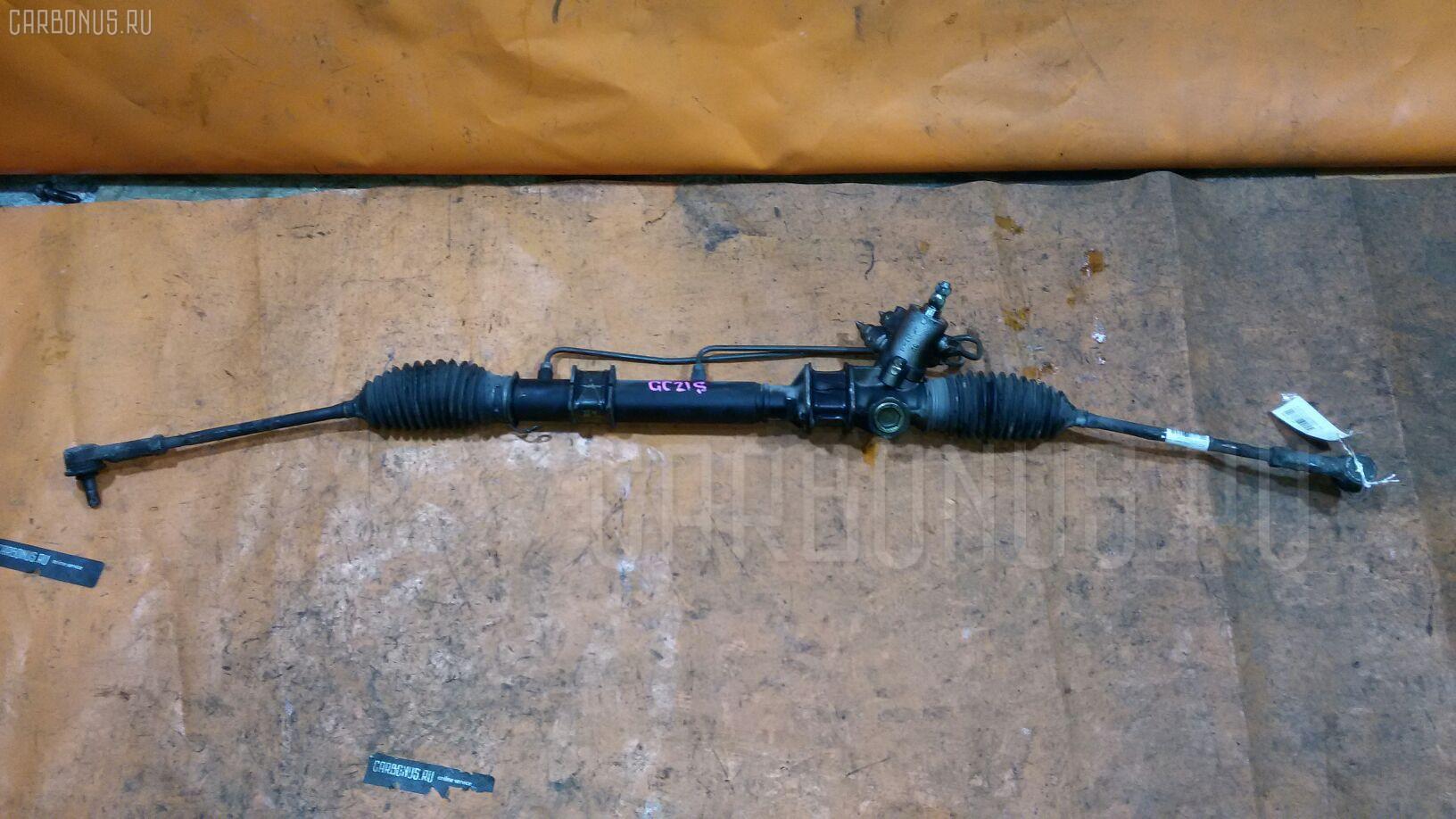 Рулевая рейка SUZUKI CULTUS GC21S G15A. Фото 2
