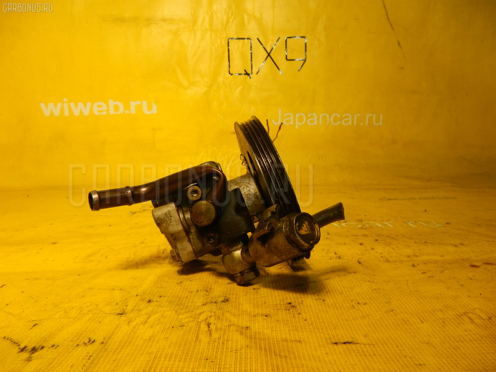 Насос гидроусилителя NISSAN CIMA GF50 VK45DD. Фото 8