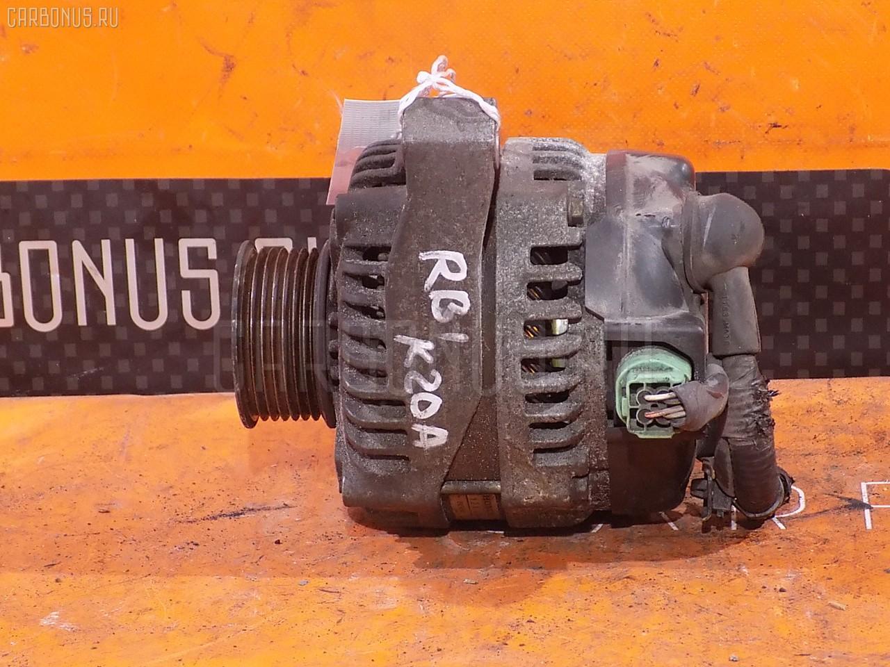 Генератор HONDA ODYSSEY RB1 K24A. Фото 9