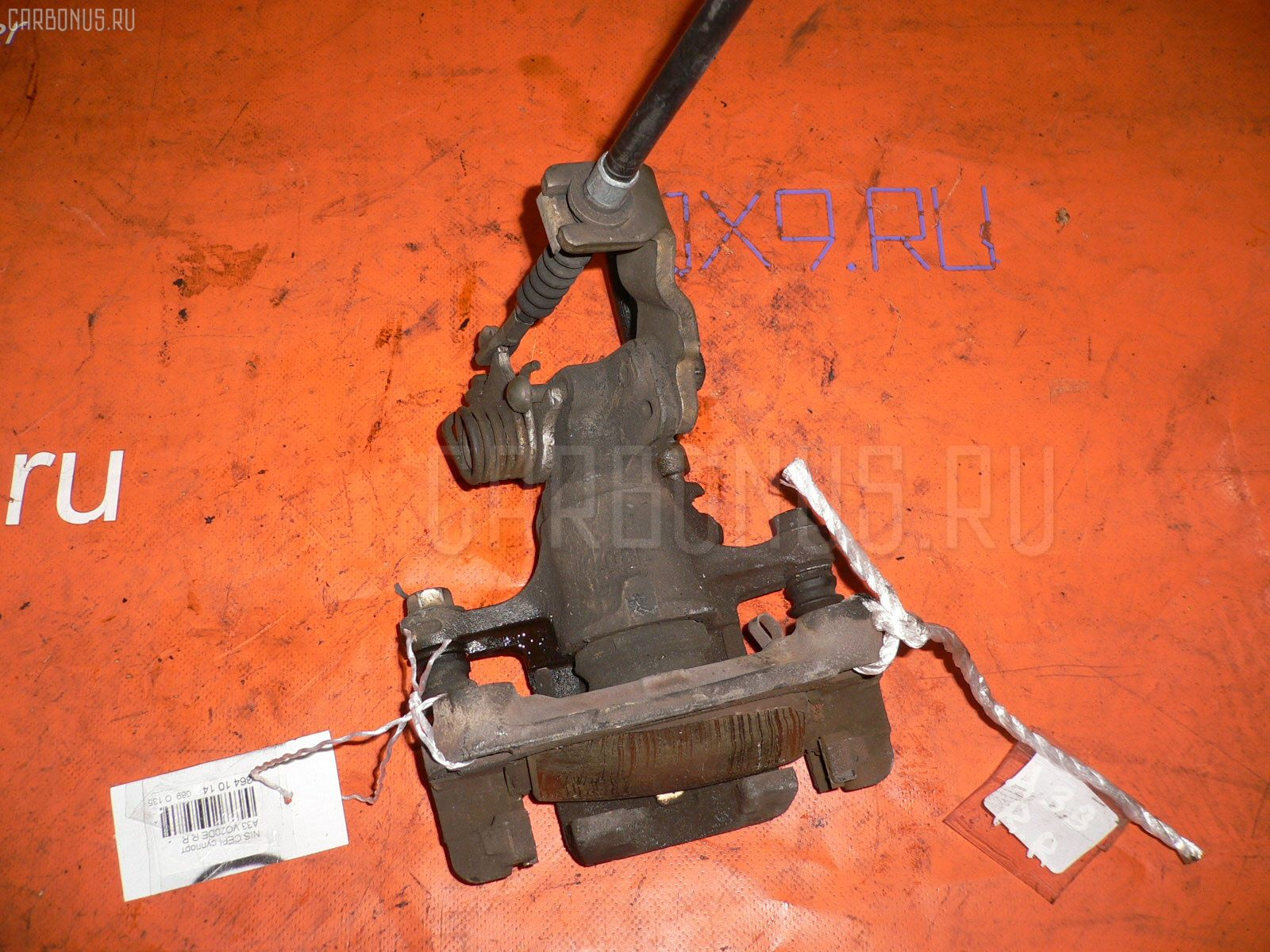 Суппорт NISSAN CEFIRO A33 VQ20DE. Фото 1
