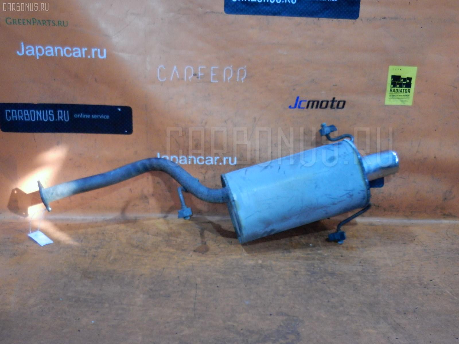 Глушитель SUBARU FORESTER SG5 EJ20. Фото 2