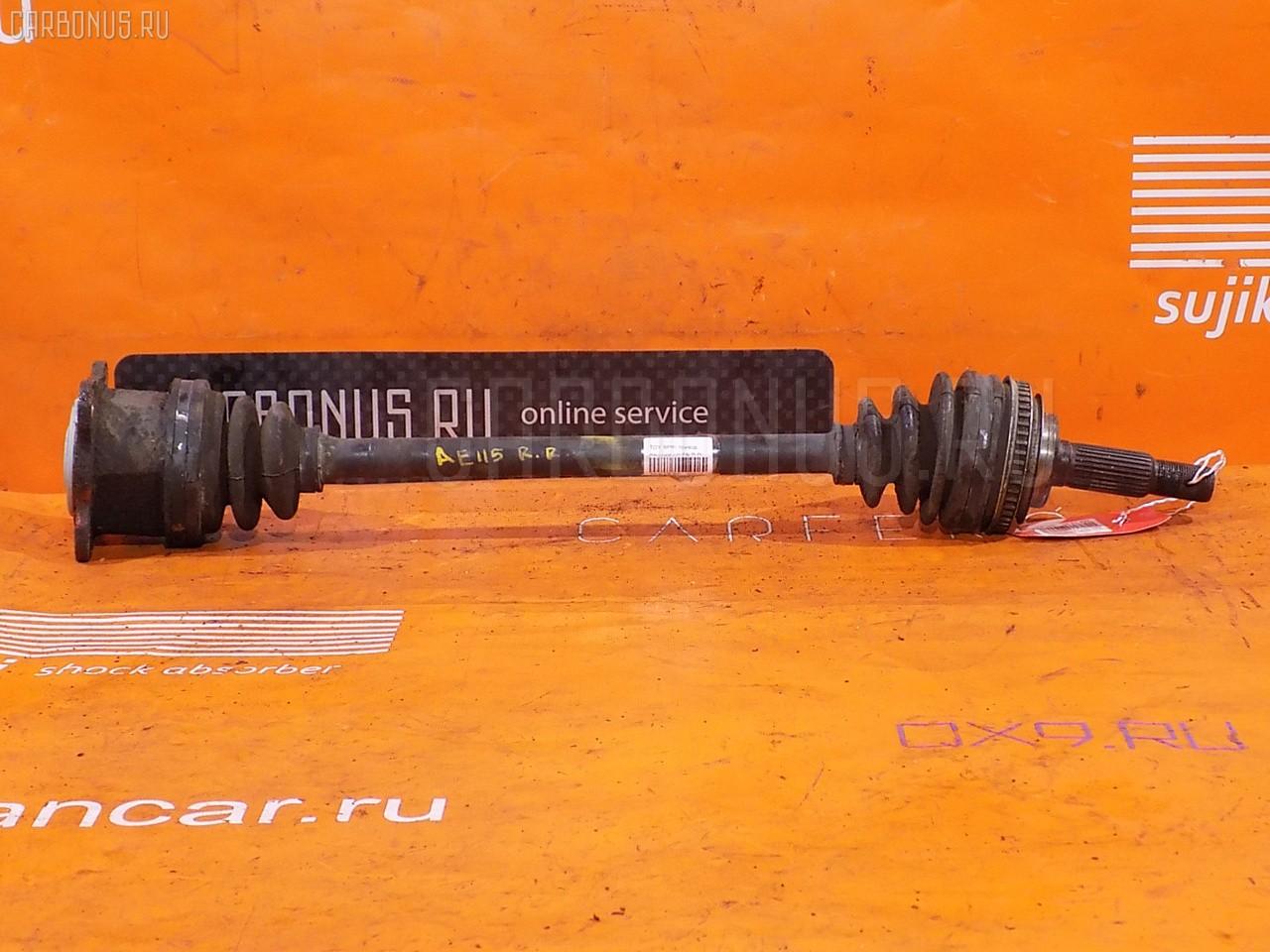Привод TOYOTA SPRINTER CARIB AE115G 7A-FE. Фото 2