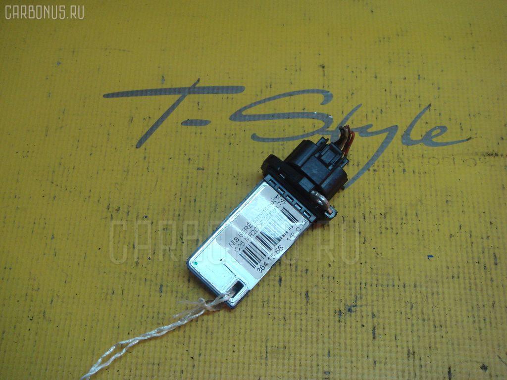Датчик расхода воздуха NISSAN WINGROAD WRY11 QR20DE. Фото 10