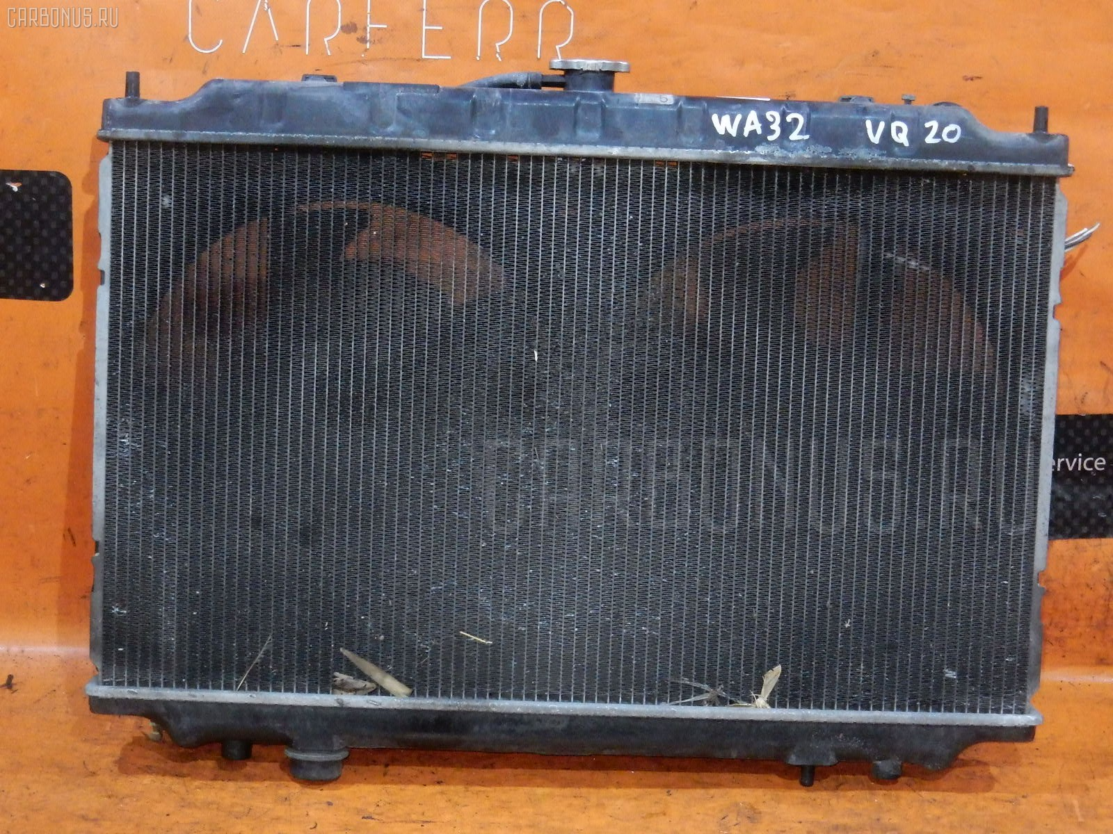 Радиатор ДВС NISSAN CEFIRO WAGON WA32 VQ20DE. Фото 5