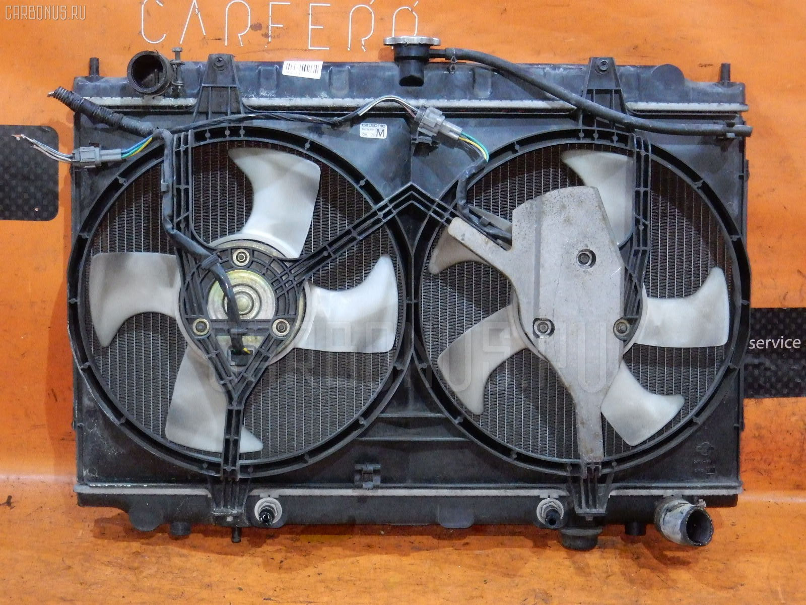 Радиатор ДВС NISSAN CEFIRO WAGON WA32 VQ20DE. Фото 6