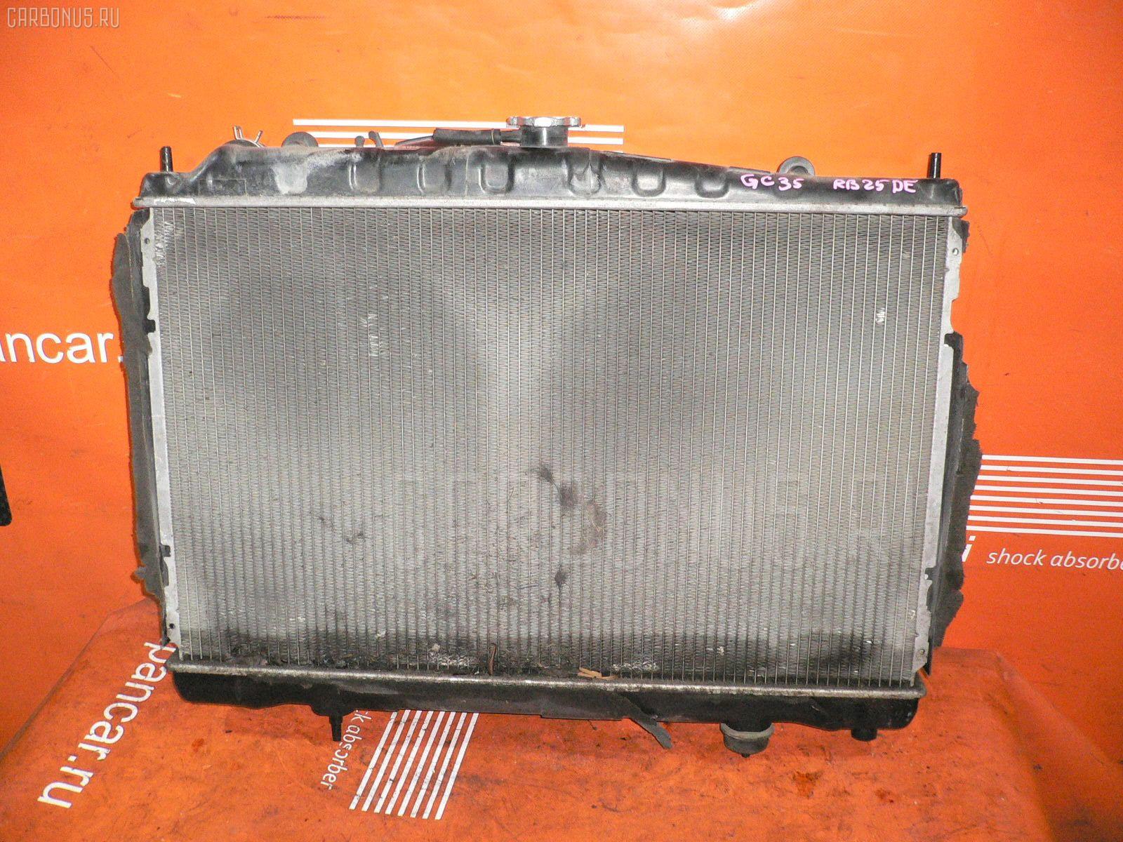 Радиатор ДВС NISSAN LAUREL GC35 RB25DE. Фото 9
