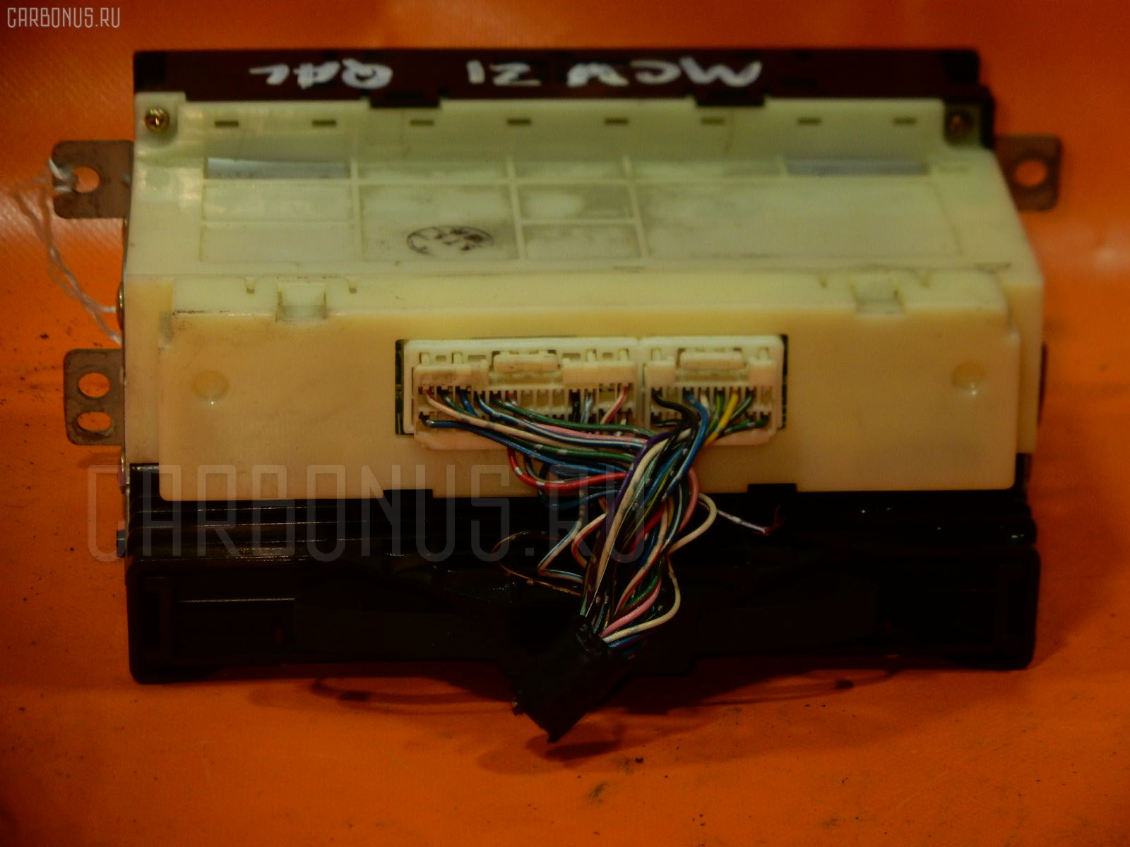 Блок управления климатконтроля TOYOTA MARK II QUALIS MCV21W 2MZ-FE. Фото 8