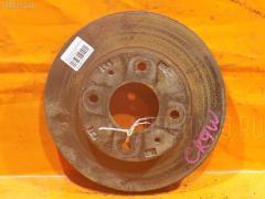 Тормозной диск на Mitsubishi Dion CR9W 4G63, Переднее расположение