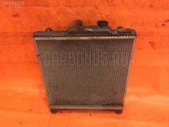 Радиатор ДВС на Honda Domani MB4 D16A Фото 2