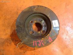 Тормозной диск NISSAN TIIDA JC11 MR18DE Переднее