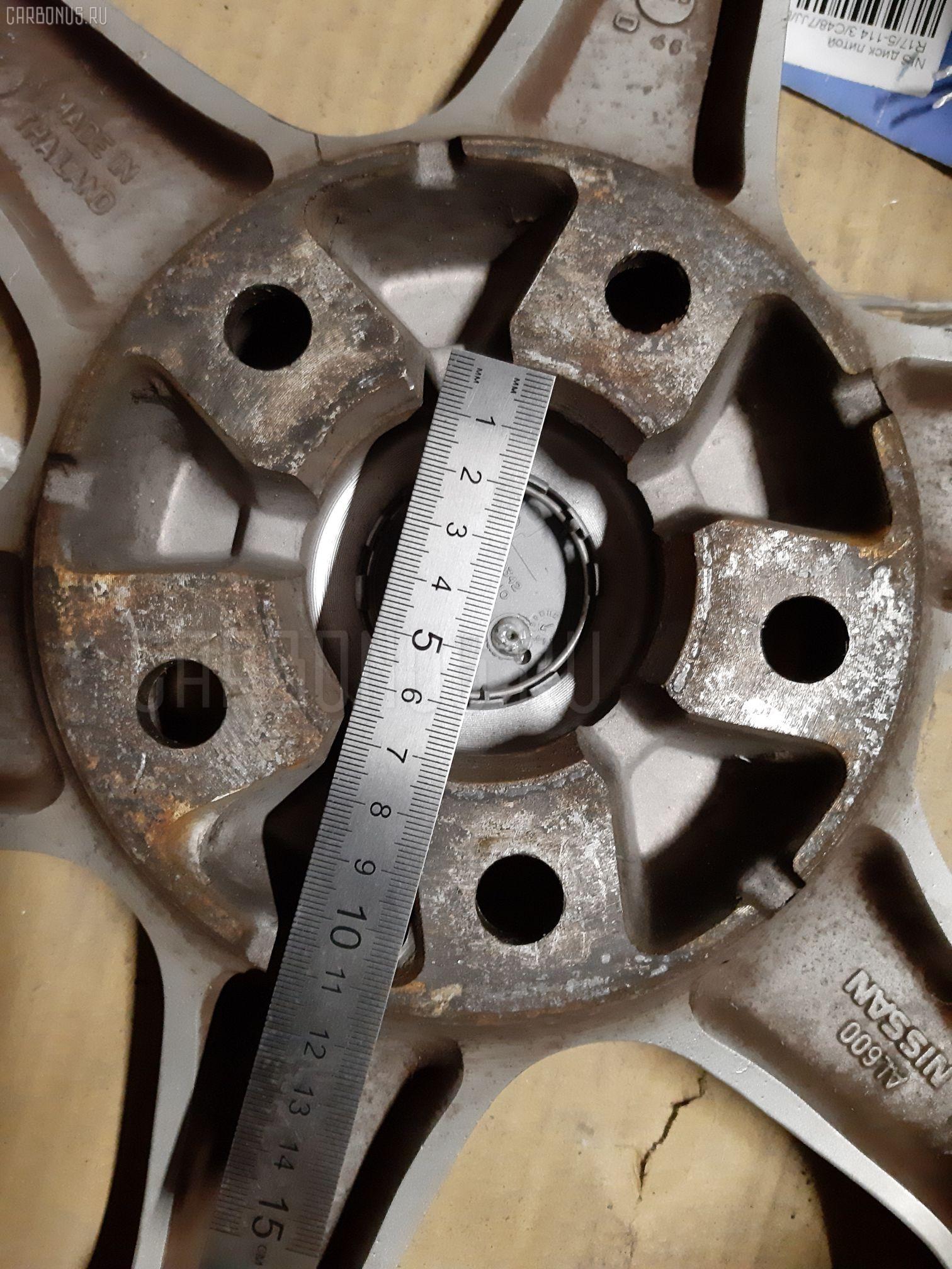 Диск литой R17 / 5-114.3 / C70 / 7JJ / ET45 Фото 1