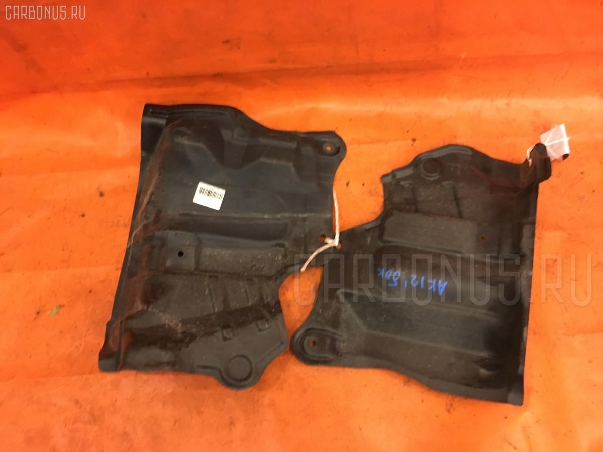 Защита двигателя 75898AX000, 75899AX000 на Nissan March AK12 CR12DE Фото 1