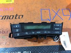 Блок управления климатконтроля на Toyota Prius ZVW30 2ZR-FXE
