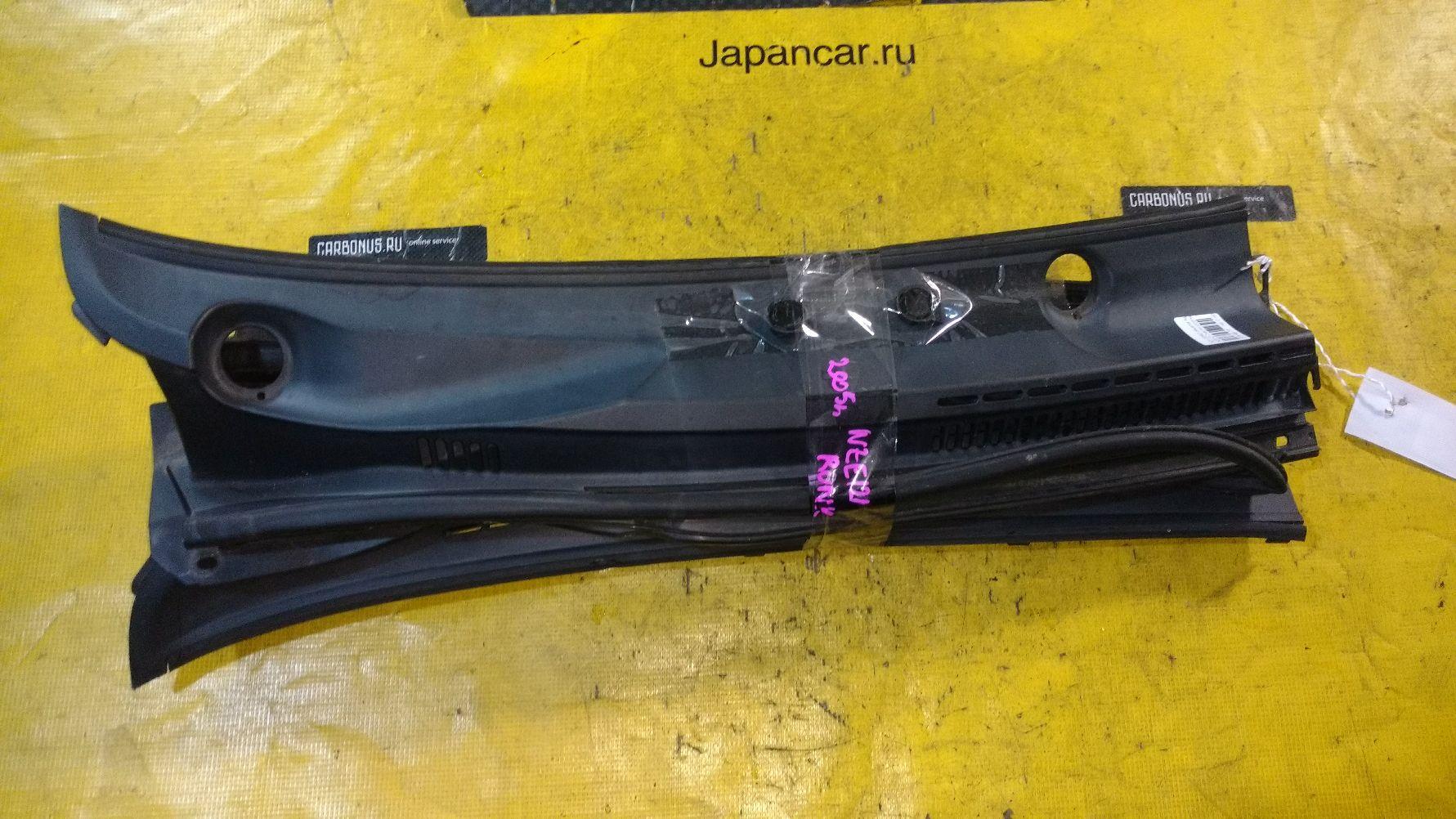 Решетка под лобовое стекло на Toyota Corolla Runx NZE121 Фото 1