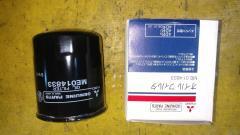 Фильтр масляный на Mitsubishi ME014833