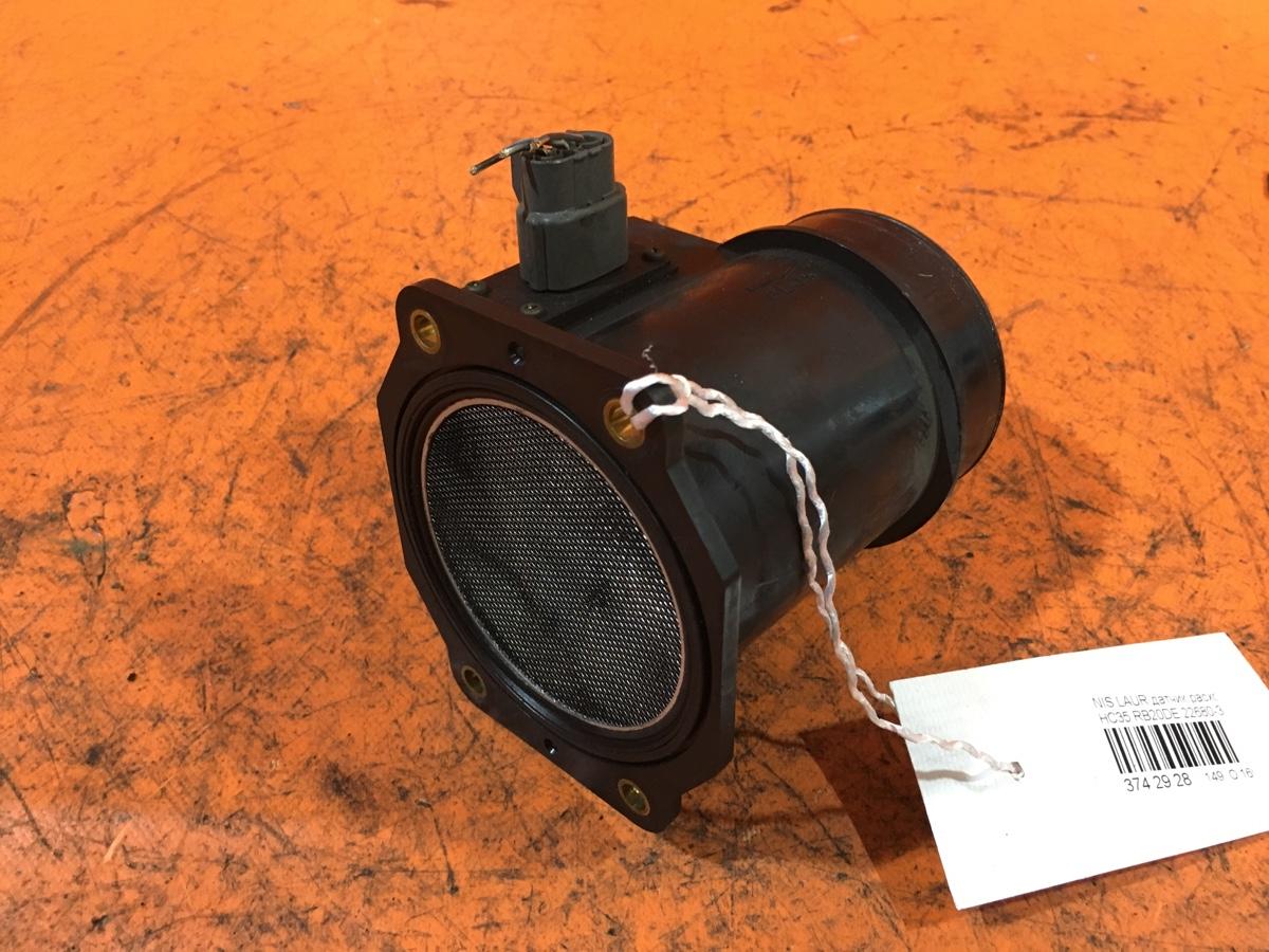 Датчик расхода воздуха 22680-31U00 на Nissan Laurel HC35 RB20DE Фото 1