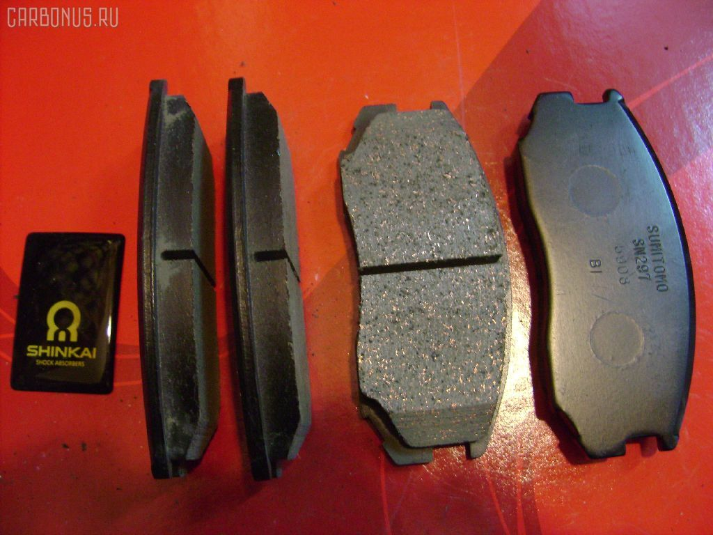 Тормозные колодки DAIHATSU TERIOS J100G. Фото 11