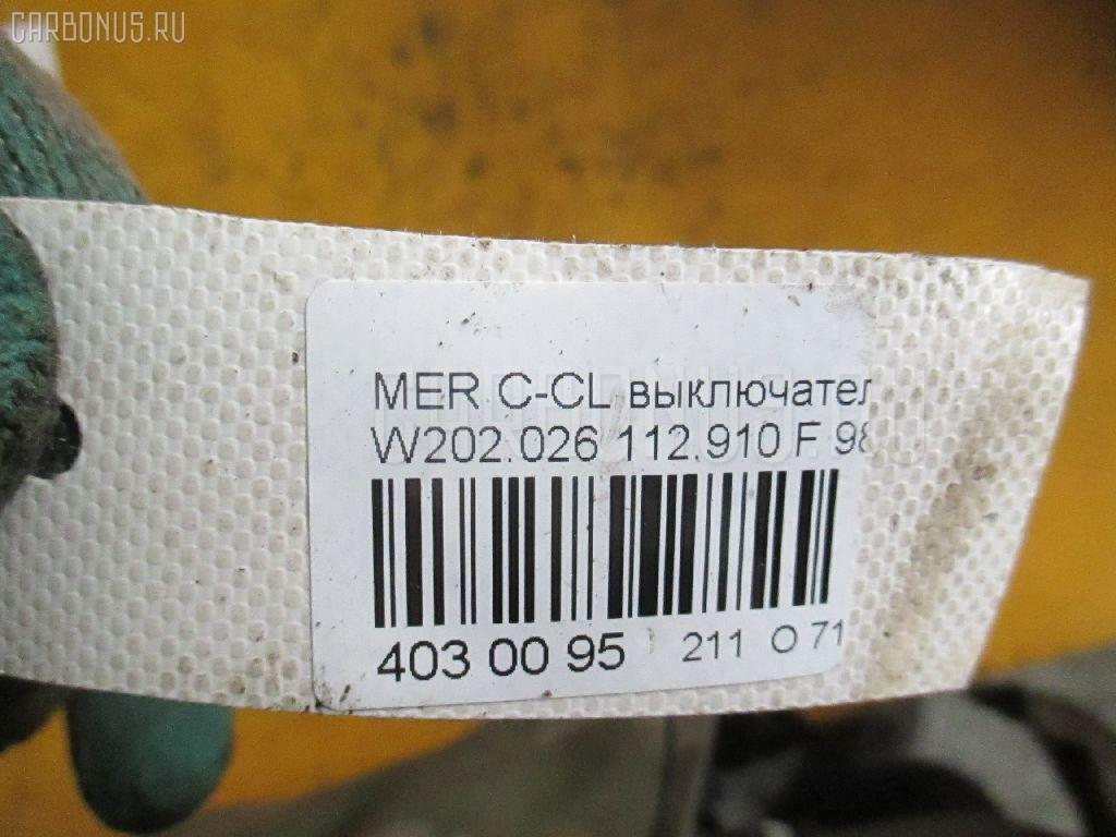 Выключатель концевой MERCEDES-BENZ C-CLASS W202.026 Фото 3