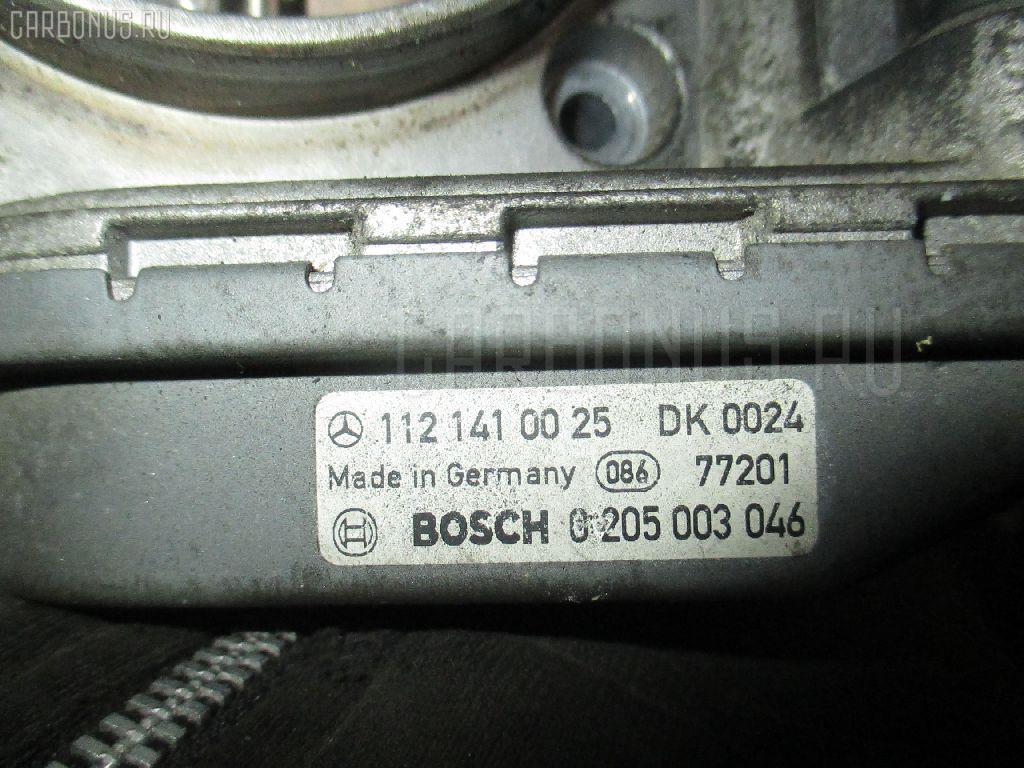 Дроссельная заслонка MERCEDES-BENZ E-CLASS STATION WAGON S210.261 112.911. Фото 1