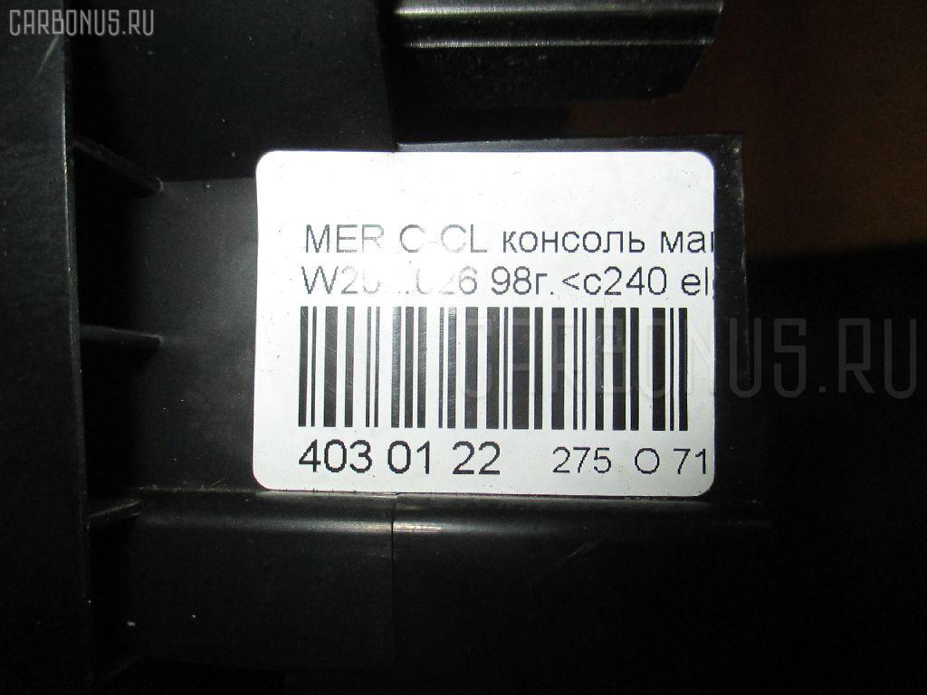 Консоль магнитофона MERCEDES-BENZ C-CLASS W202.026 Фото 3