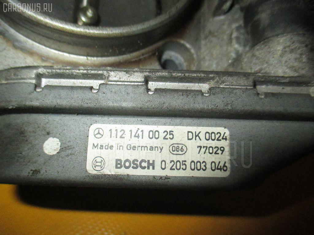 Дроссельная заслонка MERCEDES-BENZ E-CLASS STATION WAGON S210.261 112.911. Фото 4