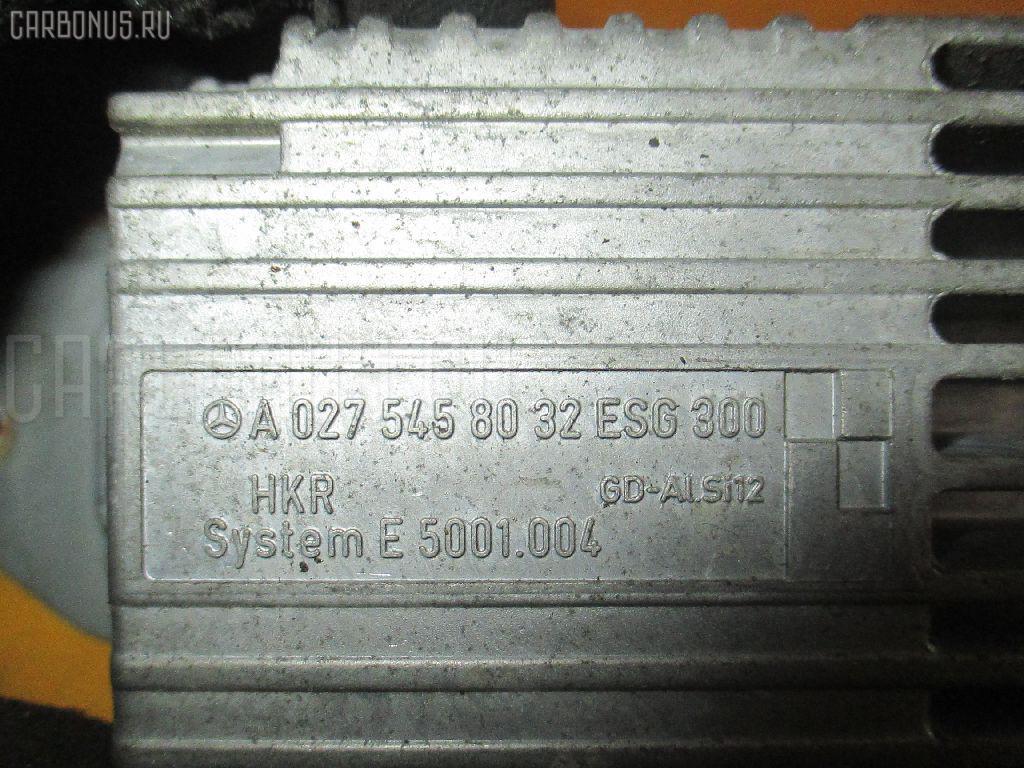 Блок управления вентилятором MERCEDES-BENZ E-CLASS W210.070 113.940 Фото 1
