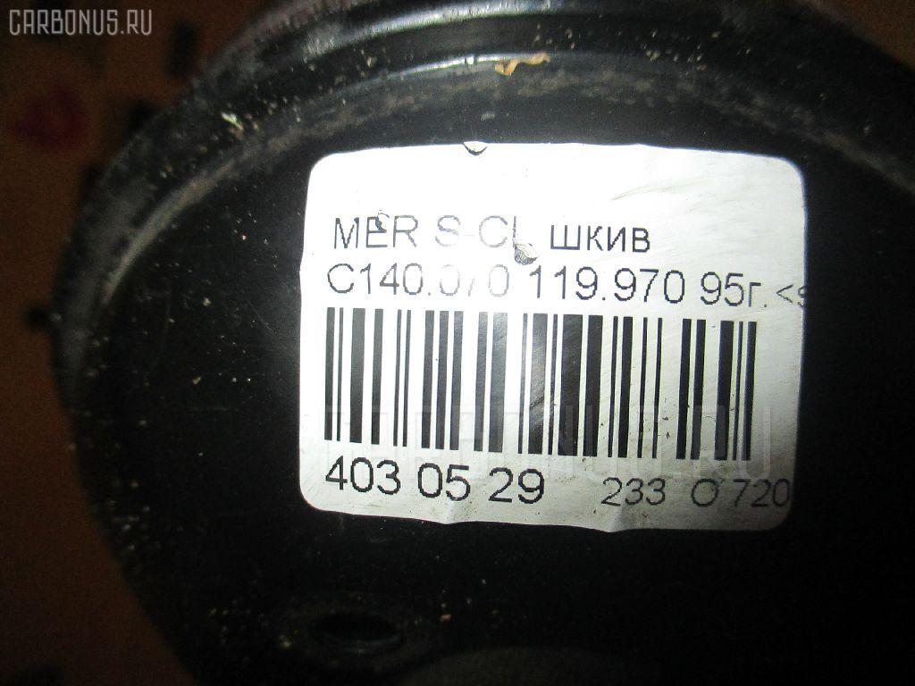Шкив MERCEDES-BENZ S-CLASS COUPE C140.070 119.970 Фото 3