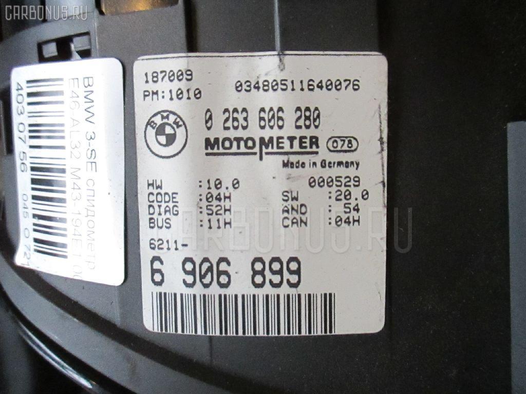 Спидометр Bmw 3-series E46-AL32 M43-194E1 Фото 1