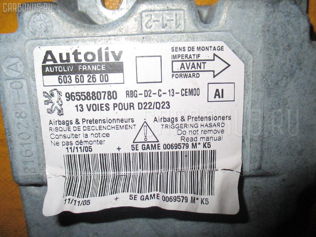 Блок управления air bag PEUGEOT 407 6D3FZ 3FZ-EW12J4 Фото 2