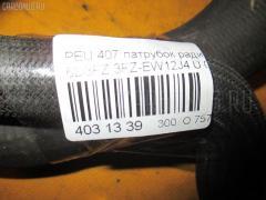 Патрубок радиатора ДВС Peugeot 407 6D3FZ 3FZ-EW12J4 Фото 4