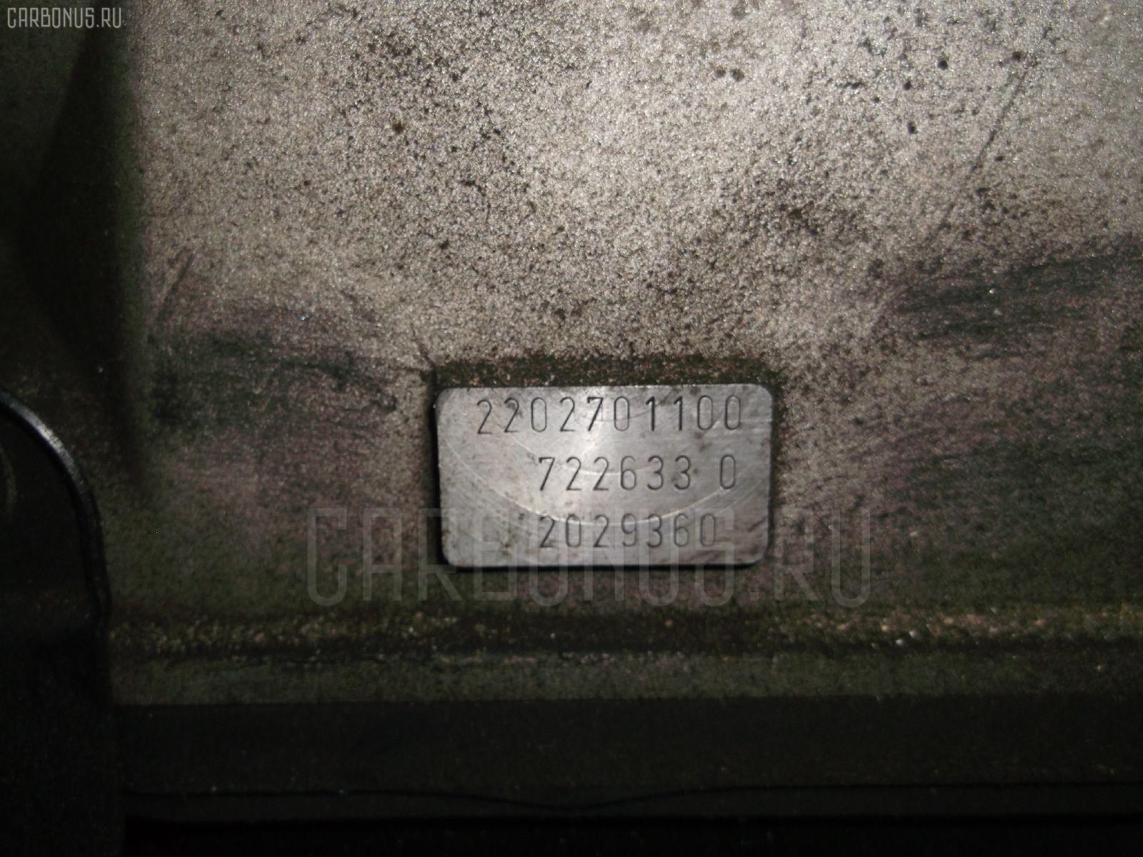 КПП автоматическая MERCEDES-BENZ CL-CLASS C215.375 113.960. Фото 1