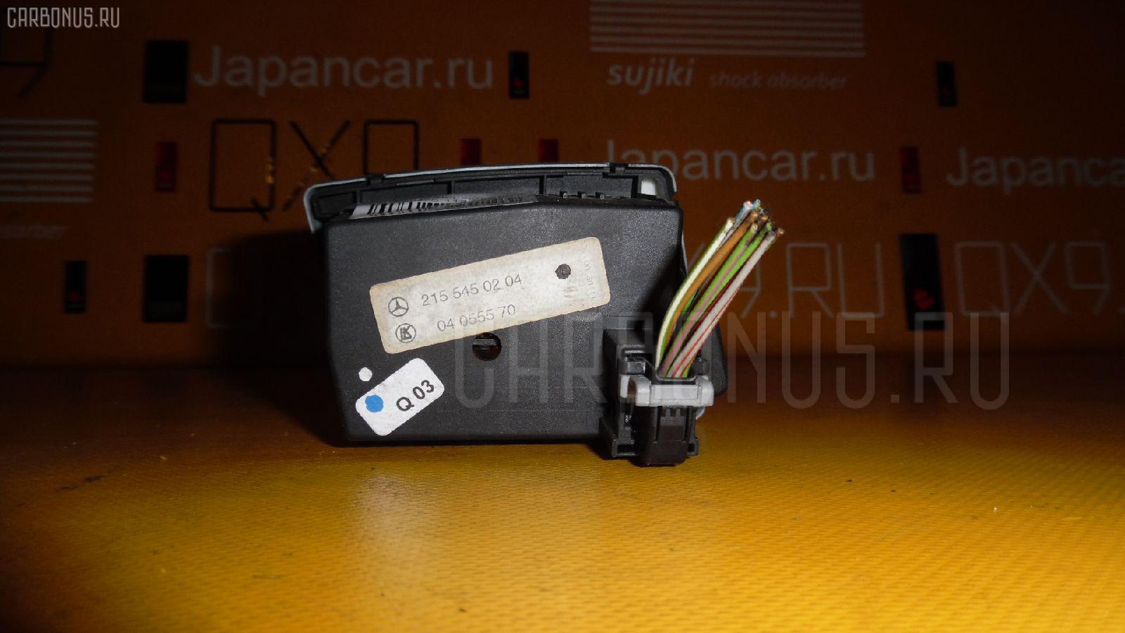 Переключатель света фар MERCEDES-BENZ CL-CLASS C215.375 113.960 Фото 1