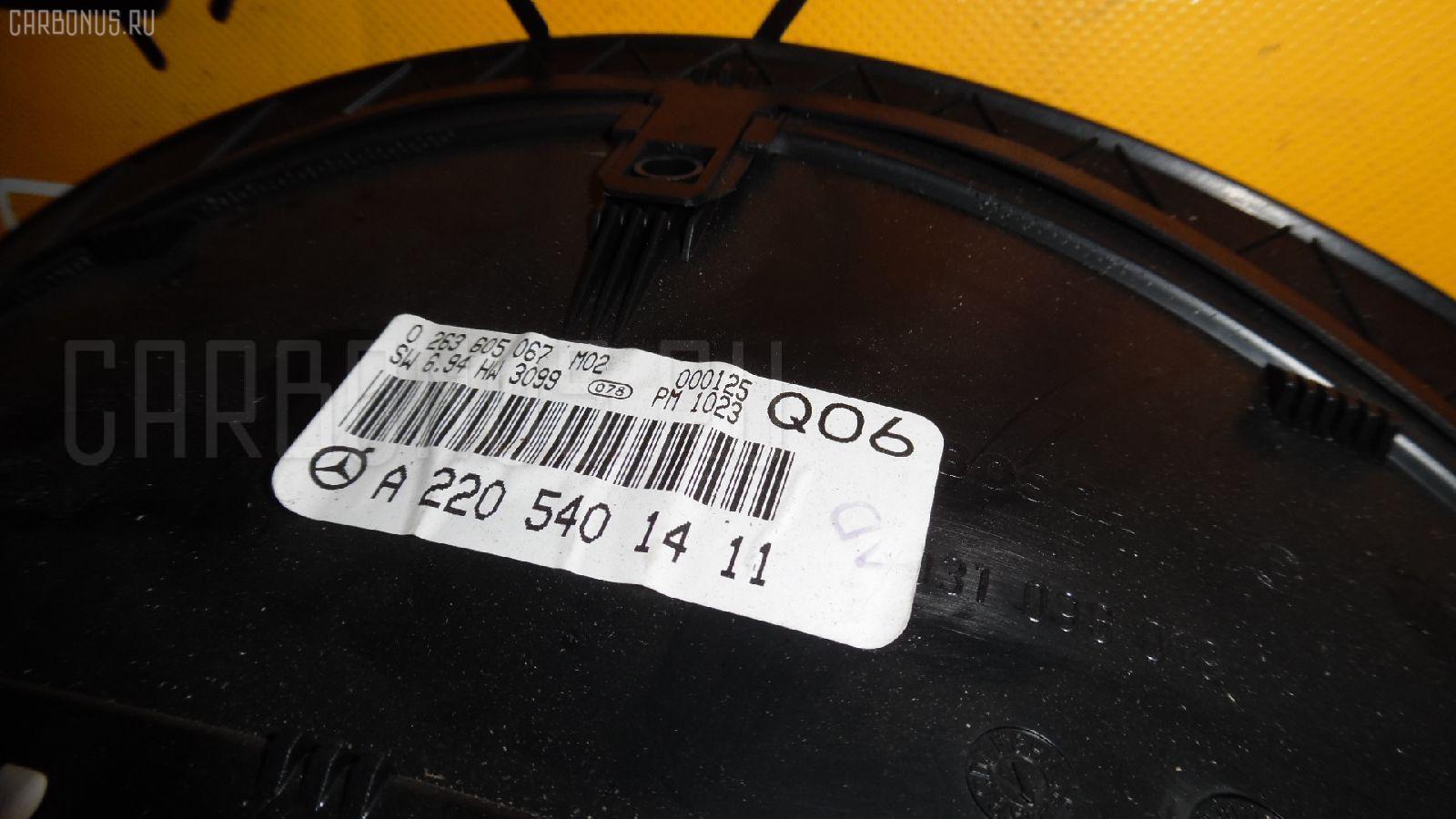 Спидометр MERCEDES-BENZ CL-CLASS C215.375 113.960 Фото 2