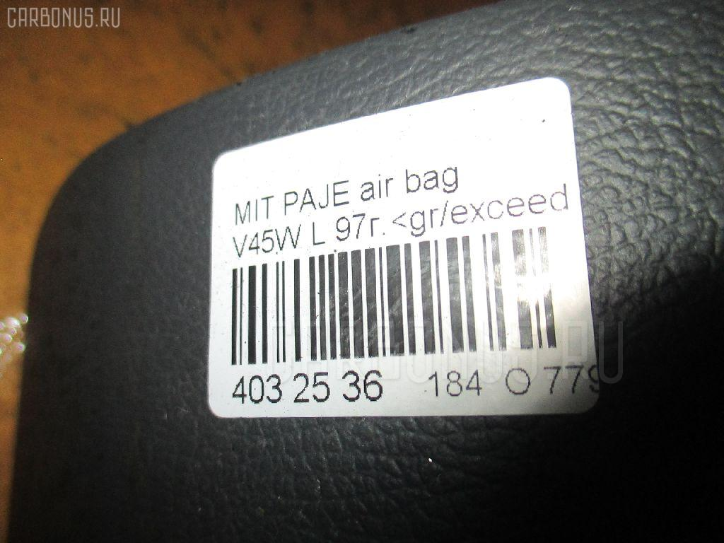 Air bag MITSUBISHI PAJERO V45W Фото 3