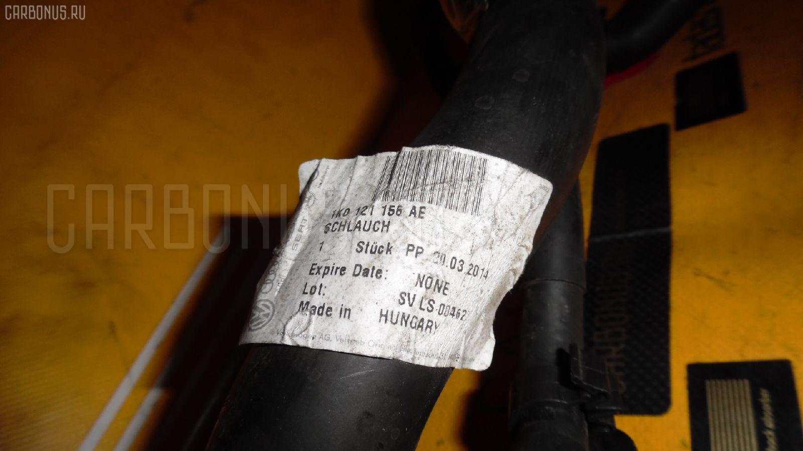 Патрубок радиатора ДВС AUDI A3 SPORTBACK 8PBLR BLR Фото 2