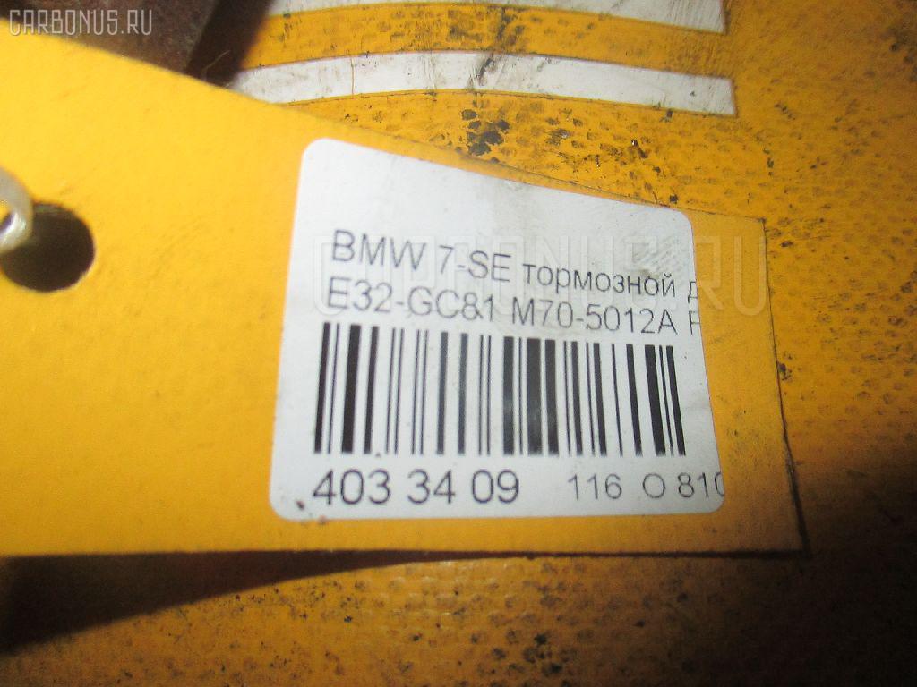 Тормозной диск BMW 7-SERIES E32-GC81 M70-5012A Фото 3