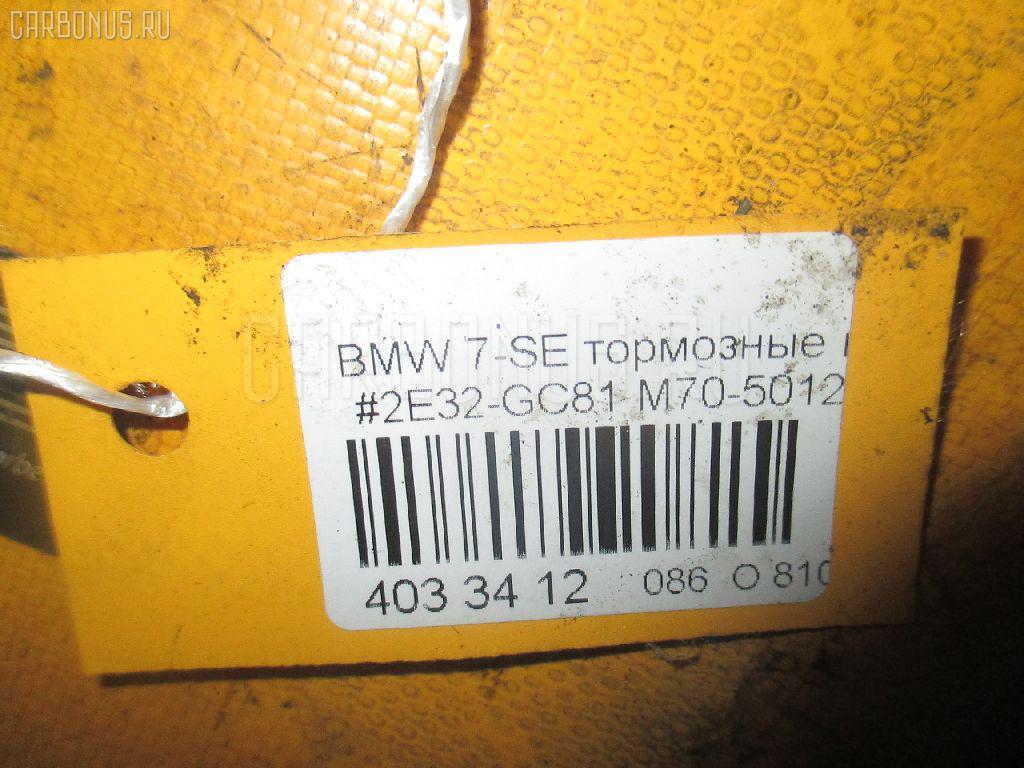 Тормозные колодки BMW 7-SERIES E32-GC81 M70-5012A Фото 3