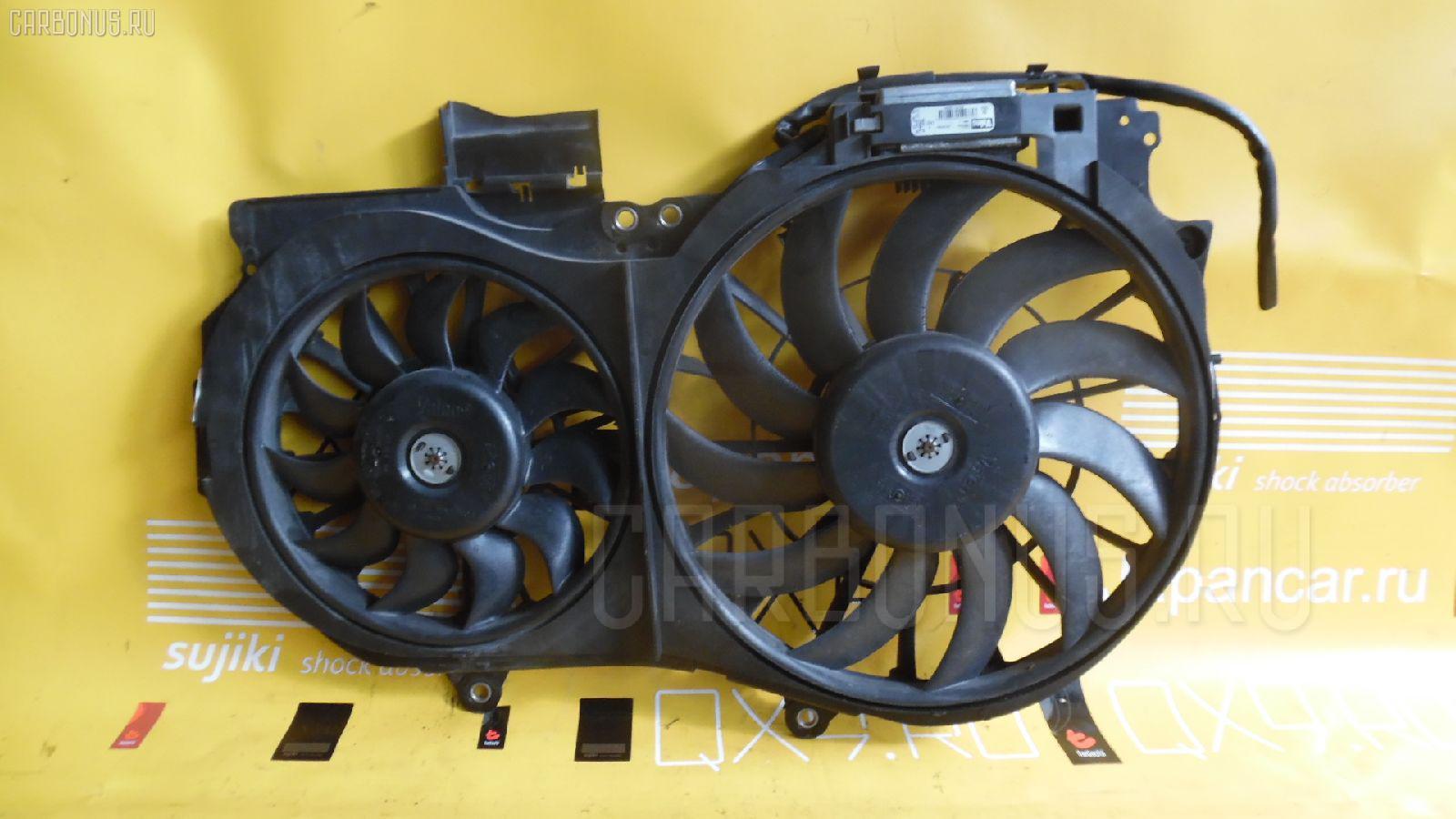 Вентилятор радиатора ДВС AUDI A4 8EALT ALT. Фото 1