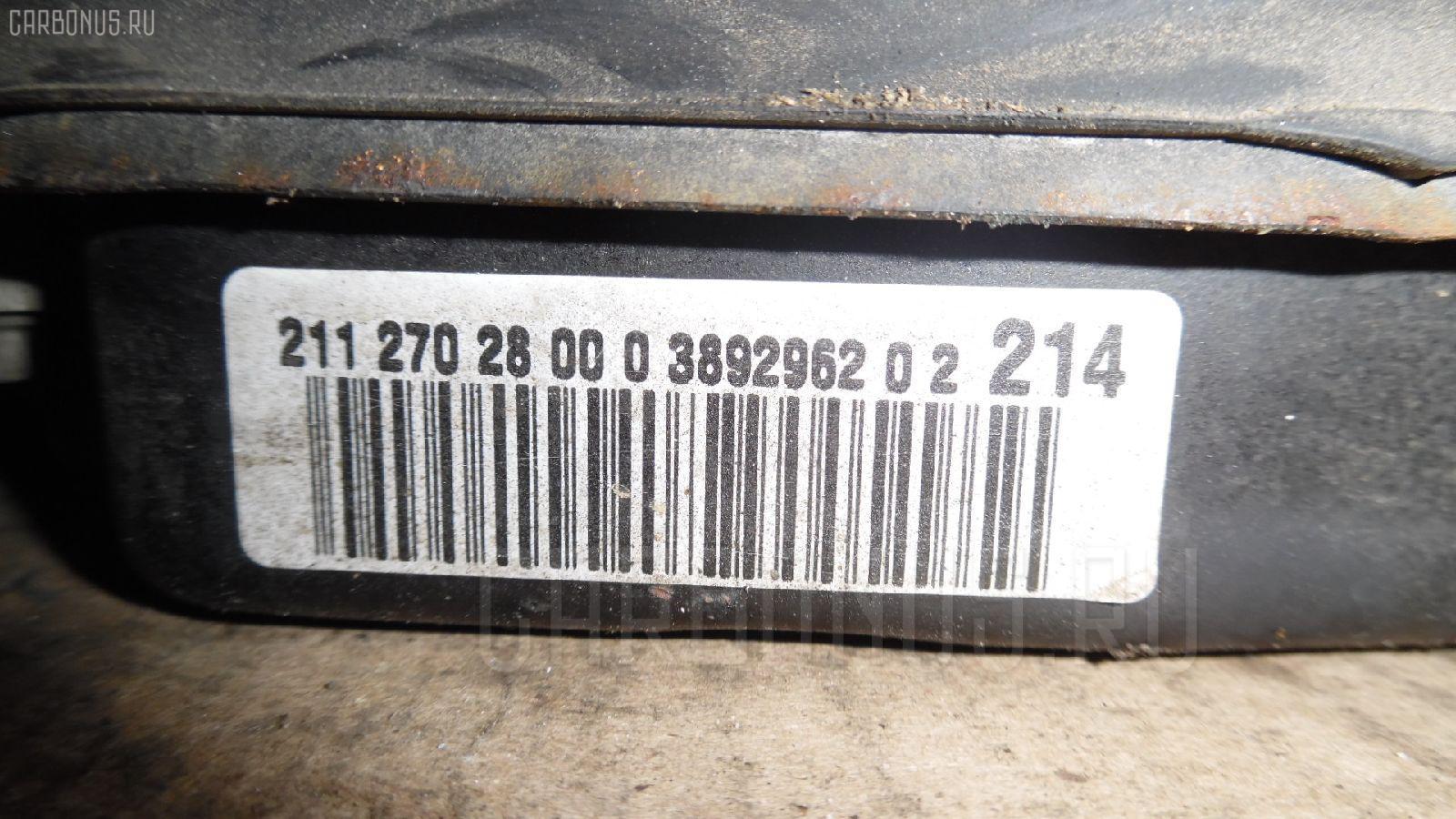 КПП автоматическая MERCEDES-BENZ E-CLASS W211.070 113.967 Фото 1