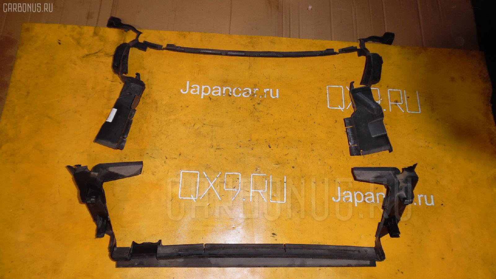 Диффузор радиатора MERCEDES-BENZ E-CLASS W211.070 113.967 Фото 2