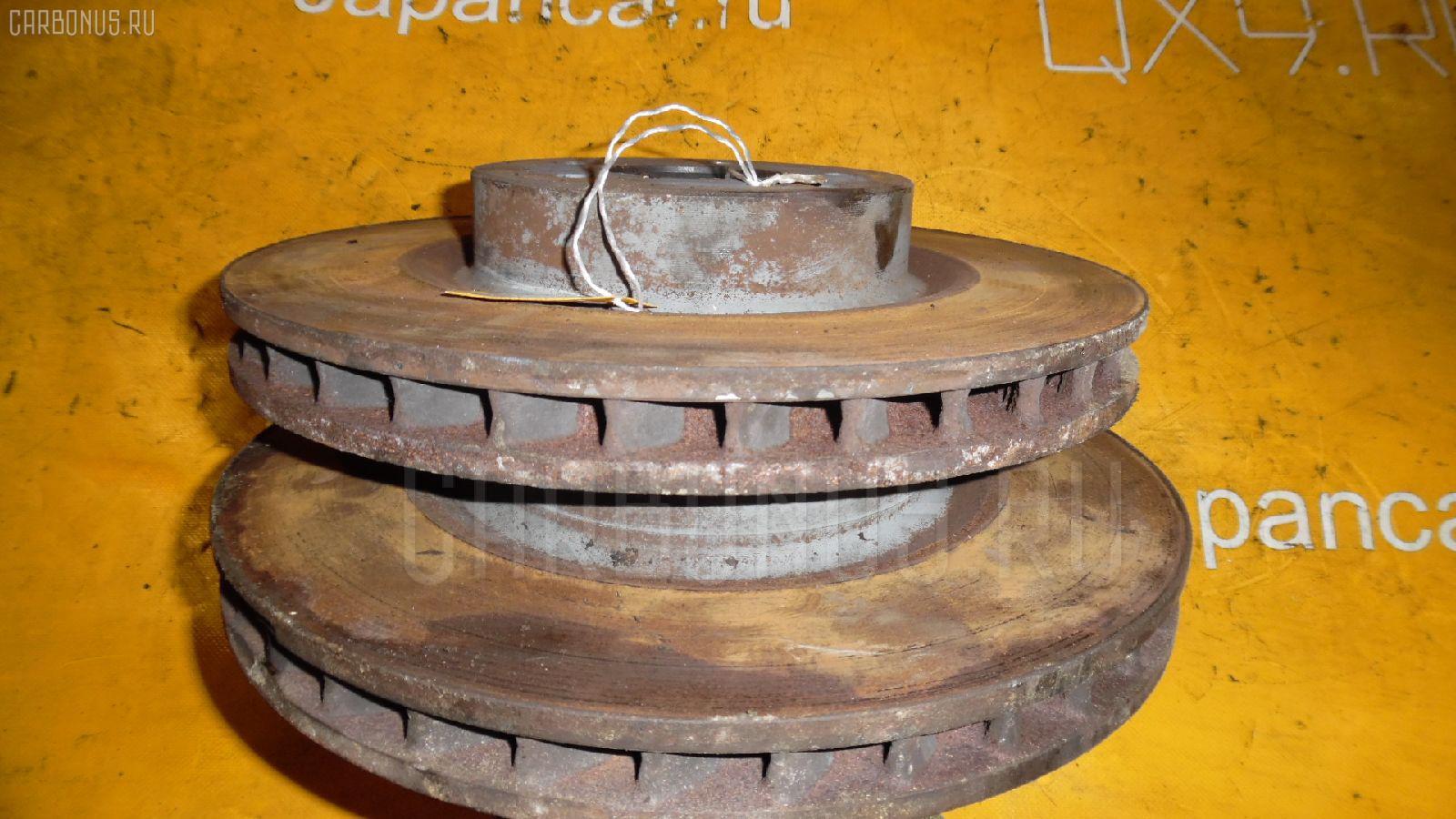 Тормозной диск MERCEDES-BENZ E-CLASS W211.070 113.967 Фото 1