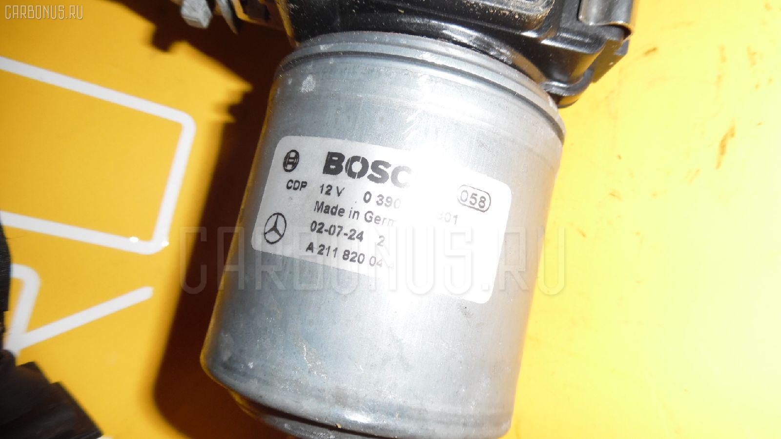 Мотор привода дворников MERCEDES-BENZ E-CLASS W211.070 Фото 1