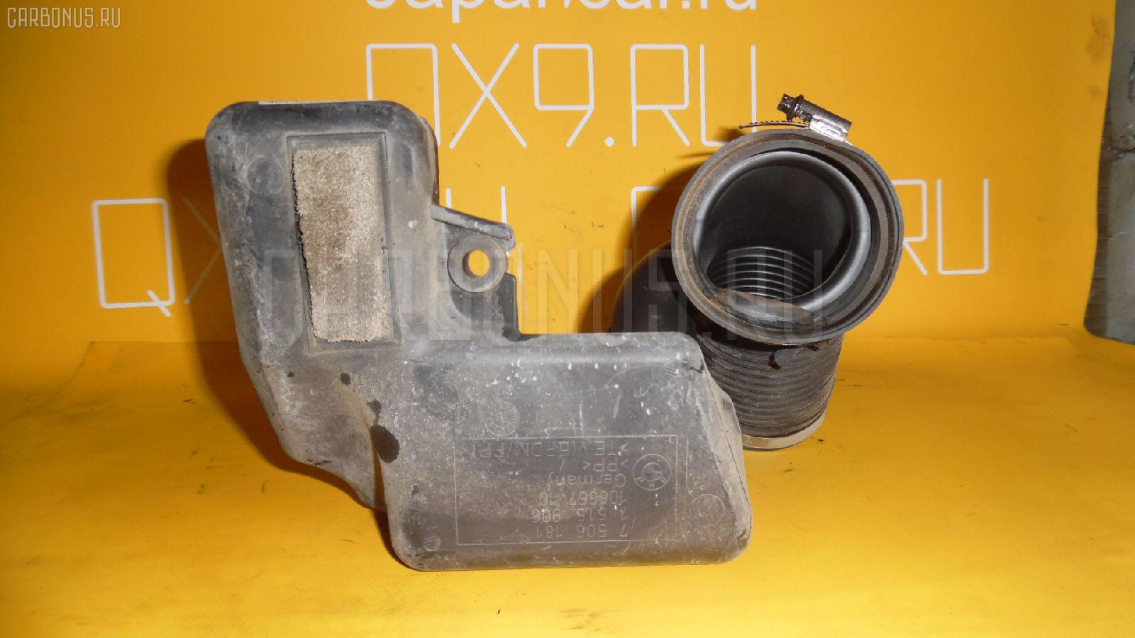 Патрубок воздушн.фильтра BMW 3-SERIES E46-AX52 N42B20A Фото 1