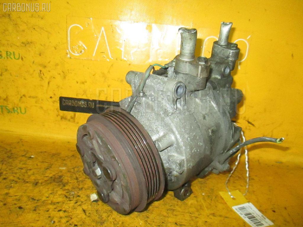 Компрессор кондиционера HONDA FIT GD1 L13A. Фото 10