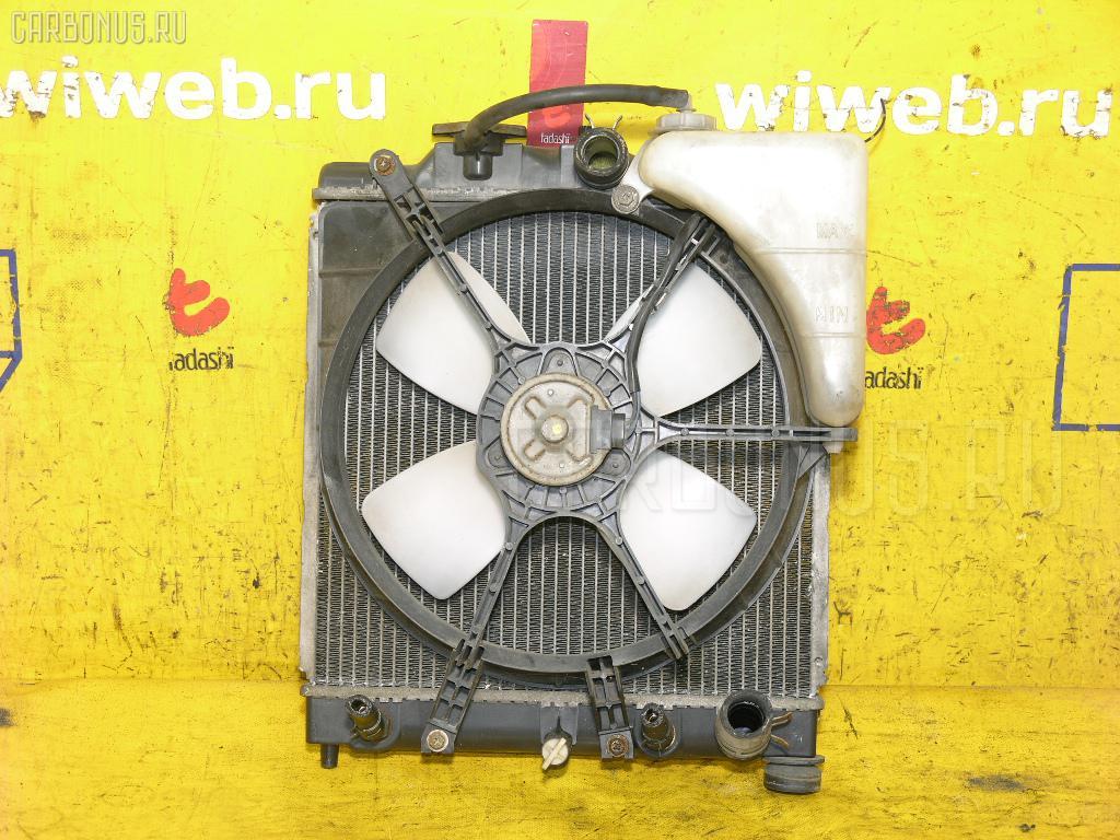 Радиатор ДВС HONDA CAPA GA4 D15B. Фото 8